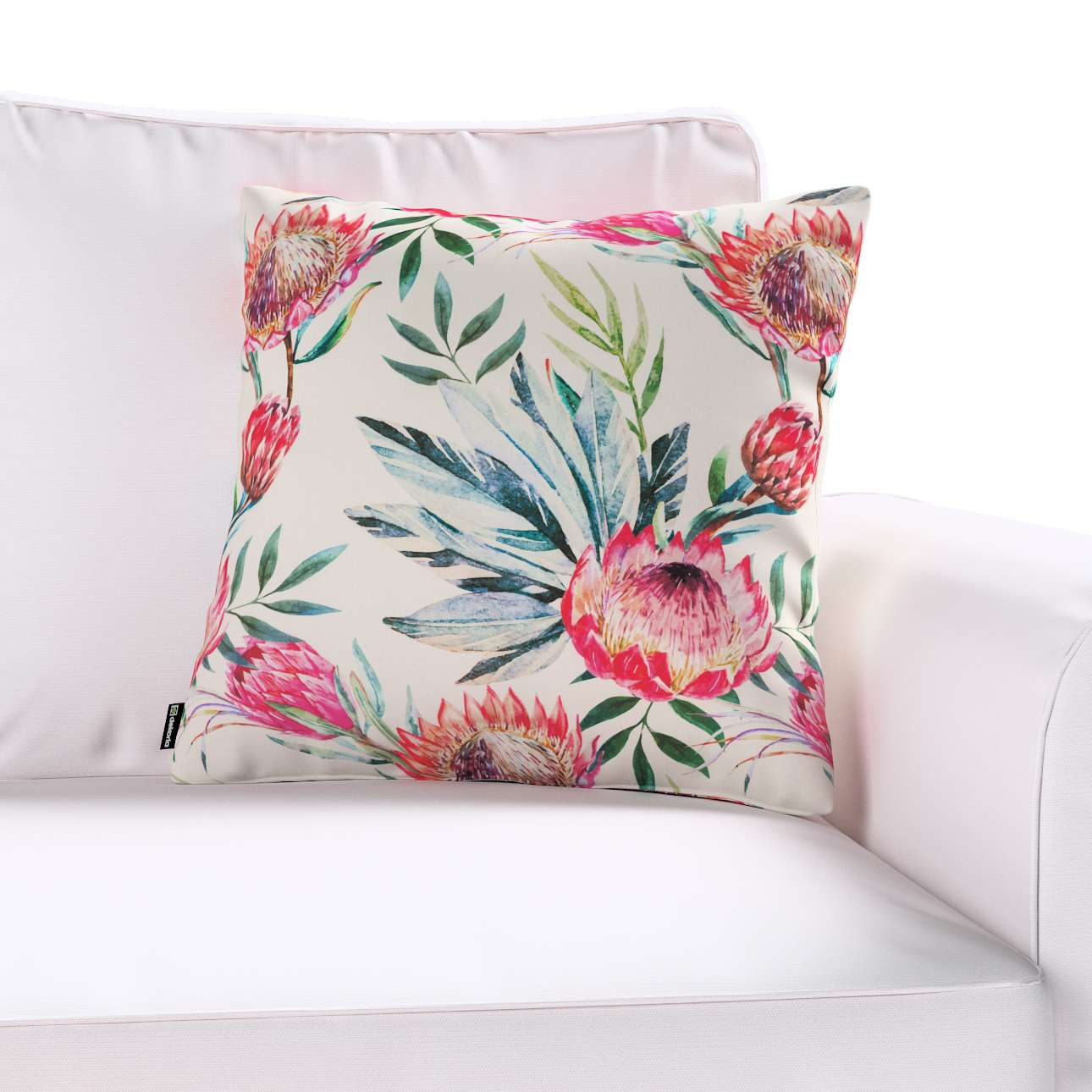 Kinga cushion cover in collection New Art, fabric: 141-59