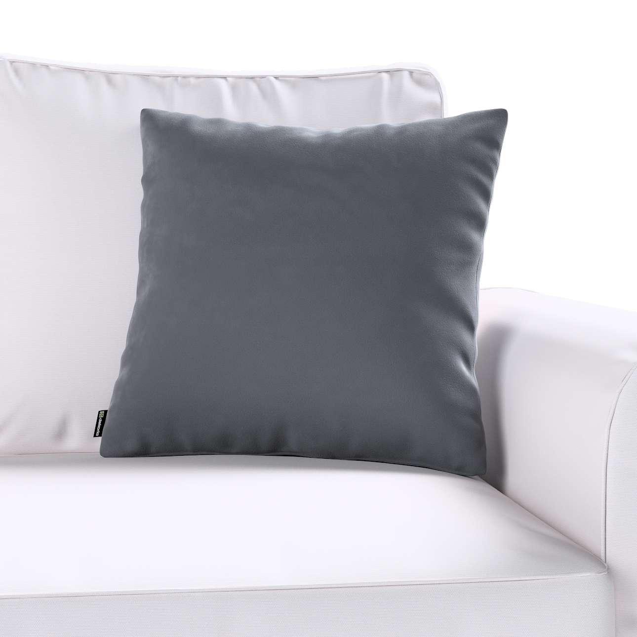 Kinga dekoratyvinės pagalvėlės užvalkalas 43 × 43 cm kolekcijoje Velvet, audinys: 704-12