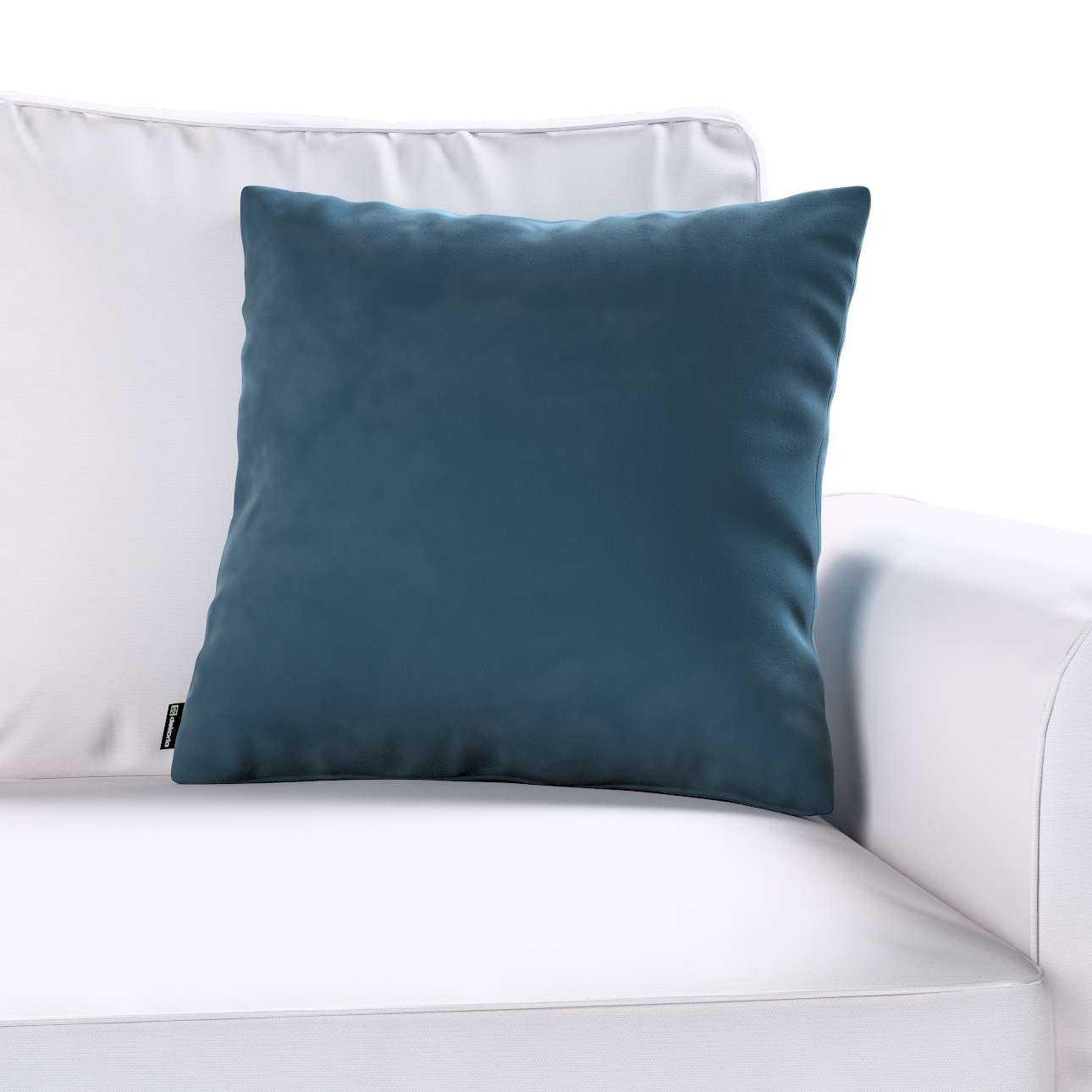 Kuddfodral standard 45 × 45 cm i kollektionen Velvet, Tyg: 704-16