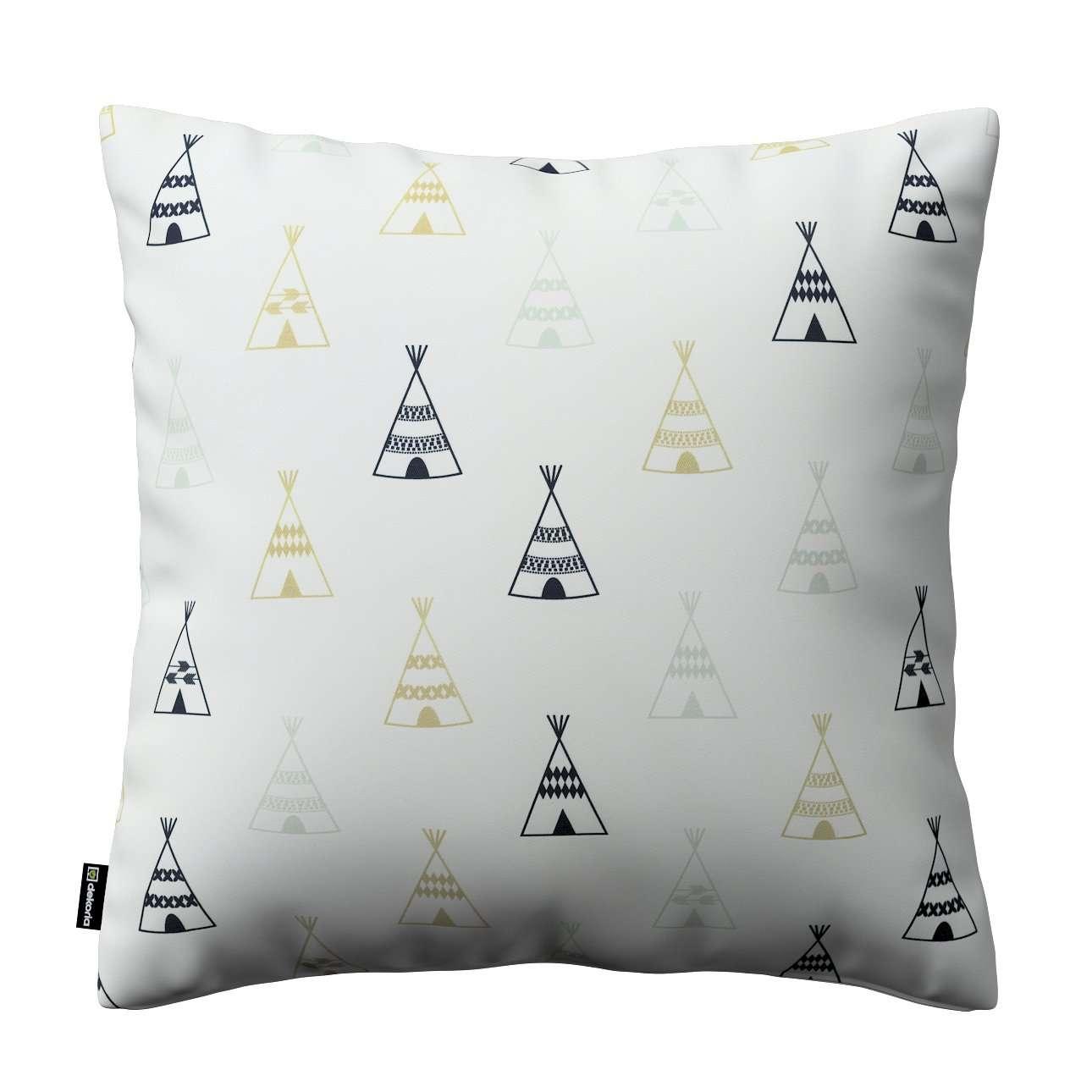 Poszewka Kinga na poduszkę w kolekcji Adventure, tkanina: 141-84