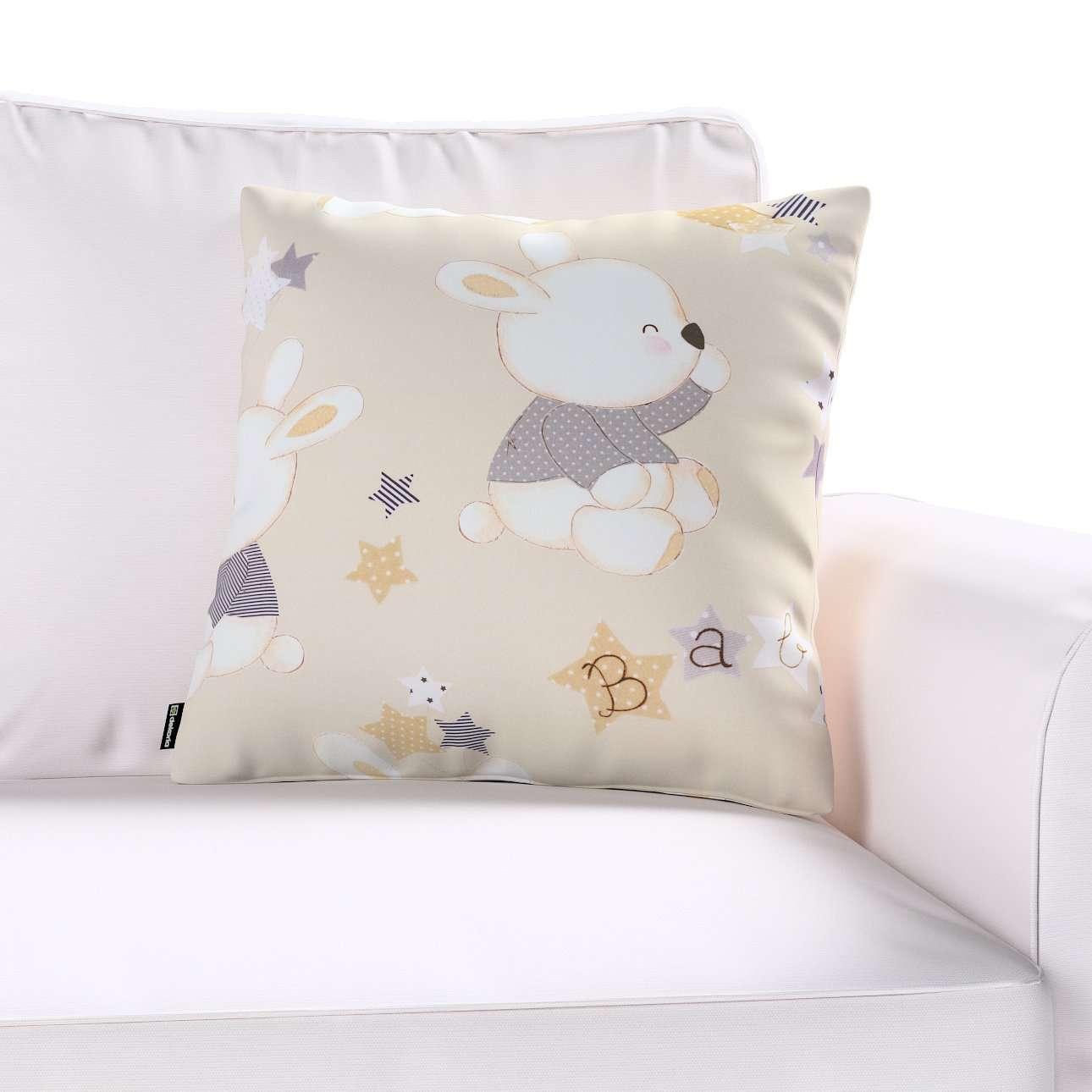 Poszewka Kinga na poduszkę w kolekcji Adventure, tkanina: 141-85