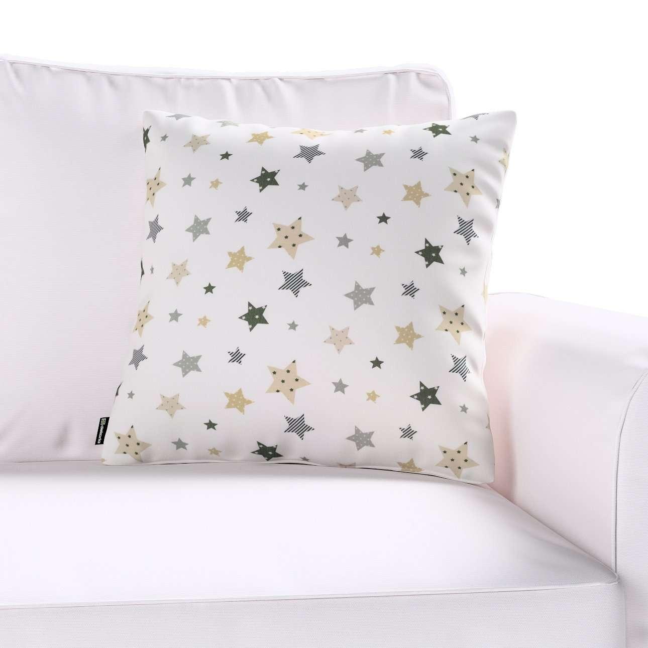 Poszewka Kinga na poduszkę w kolekcji Adventure, tkanina: 141-86