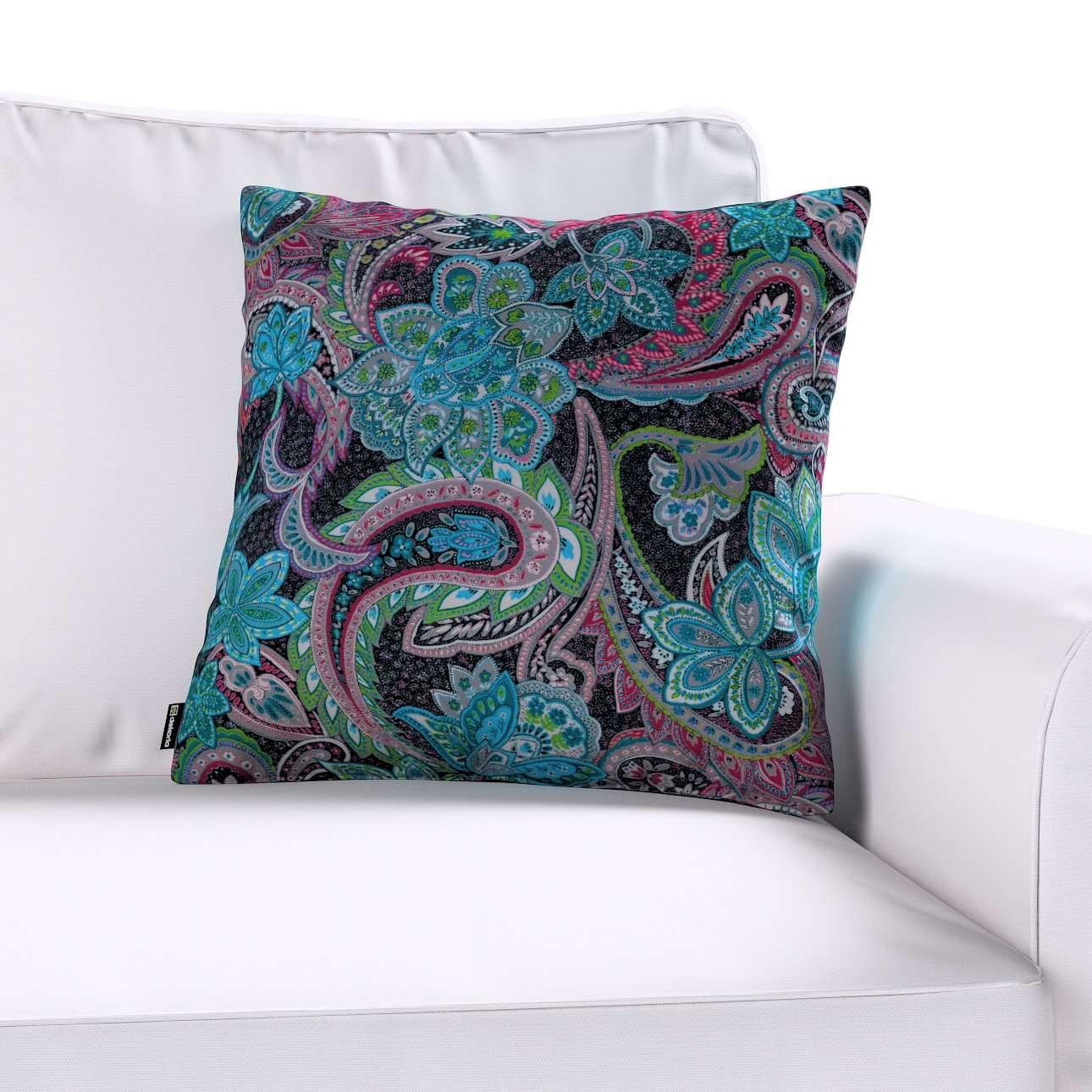Poszewka Kinga na poduszkę w kolekcji Velvet, tkanina: 704-22