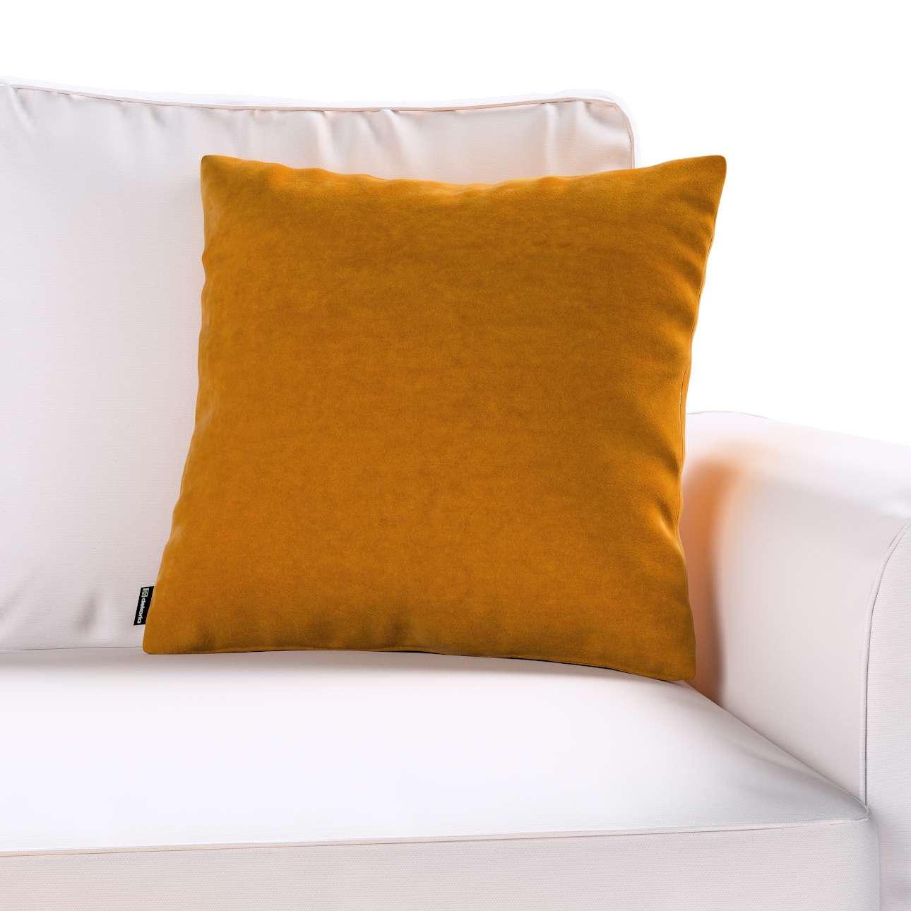Poszewka Kinga na poduszkę w kolekcji Velvet, tkanina: 704-23