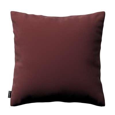 Kinga - potah na polštář jednoduchý 704-26 bordó Kolekce Velvet