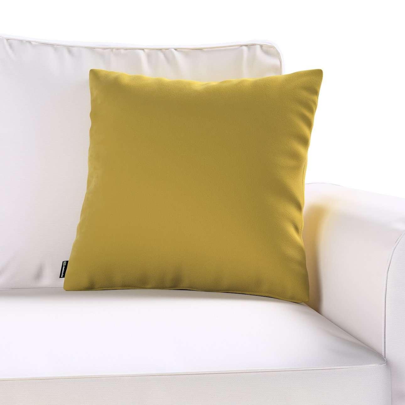 Poszewka Kinga na poduszkę w kolekcji Velvet, tkanina: 704-27