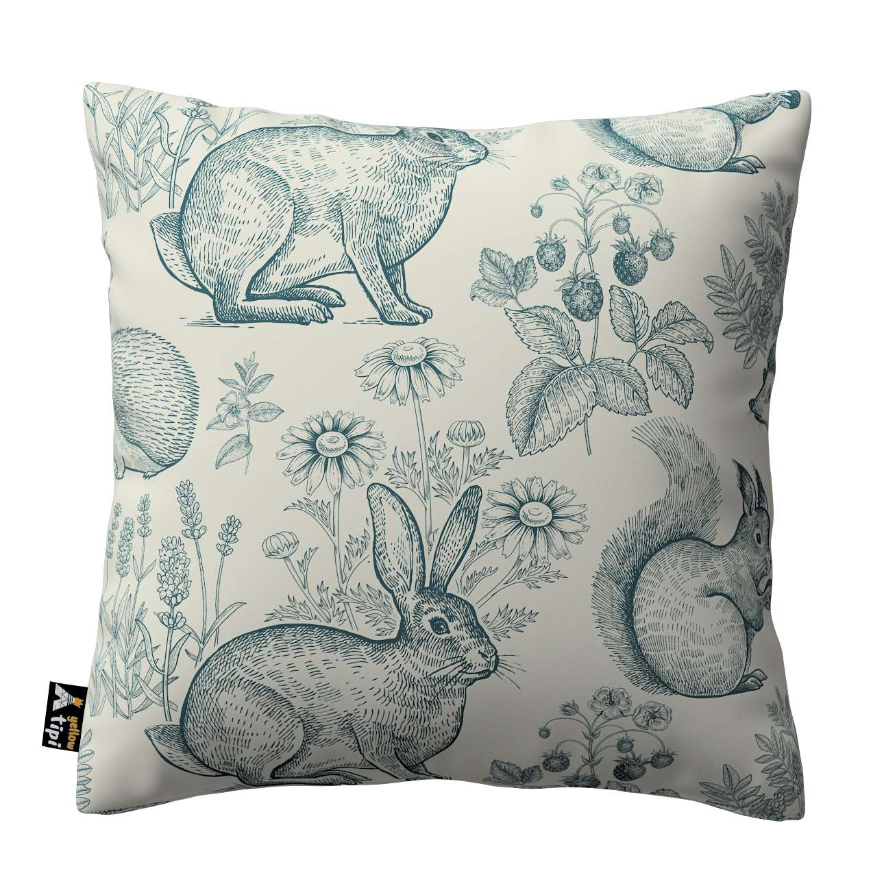Milly cushion cover in collection Magic Collection, fabric: 500-04
