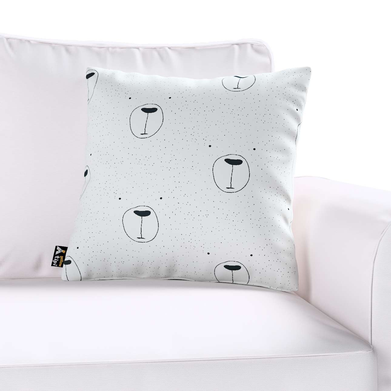 Milly cushion cover in collection Magic Collection, fabric: 500-06