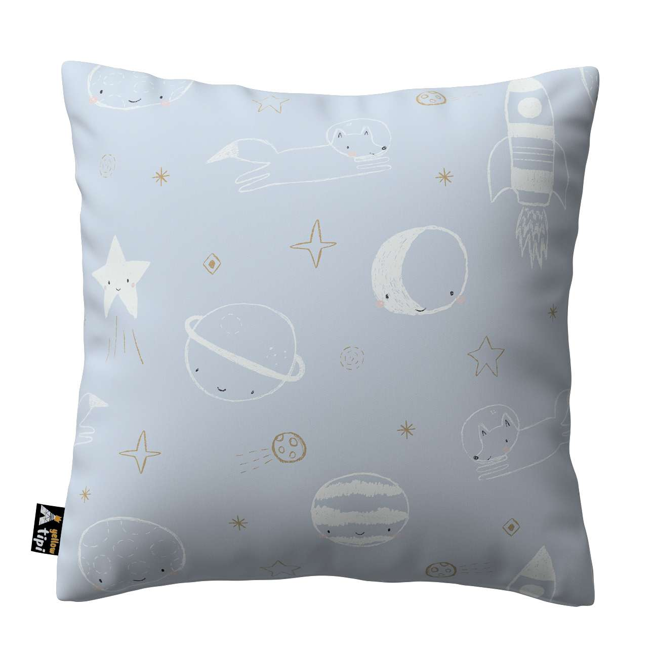 Milly cushion cover in collection Magic Collection, fabric: 500-16