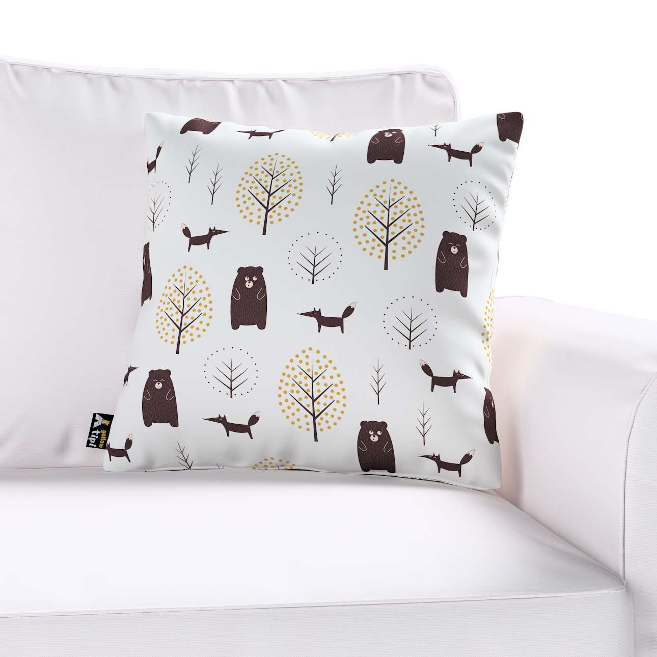 Milly cushion cover in collection Magic Collection, fabric: 500-19