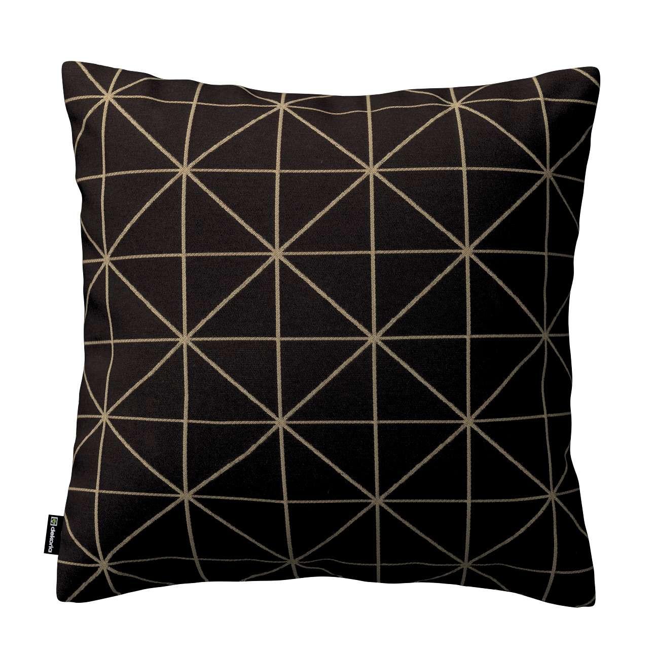 Poszewka Kinga na poduszkę w kolekcji Black & White, tkanina: 142-55