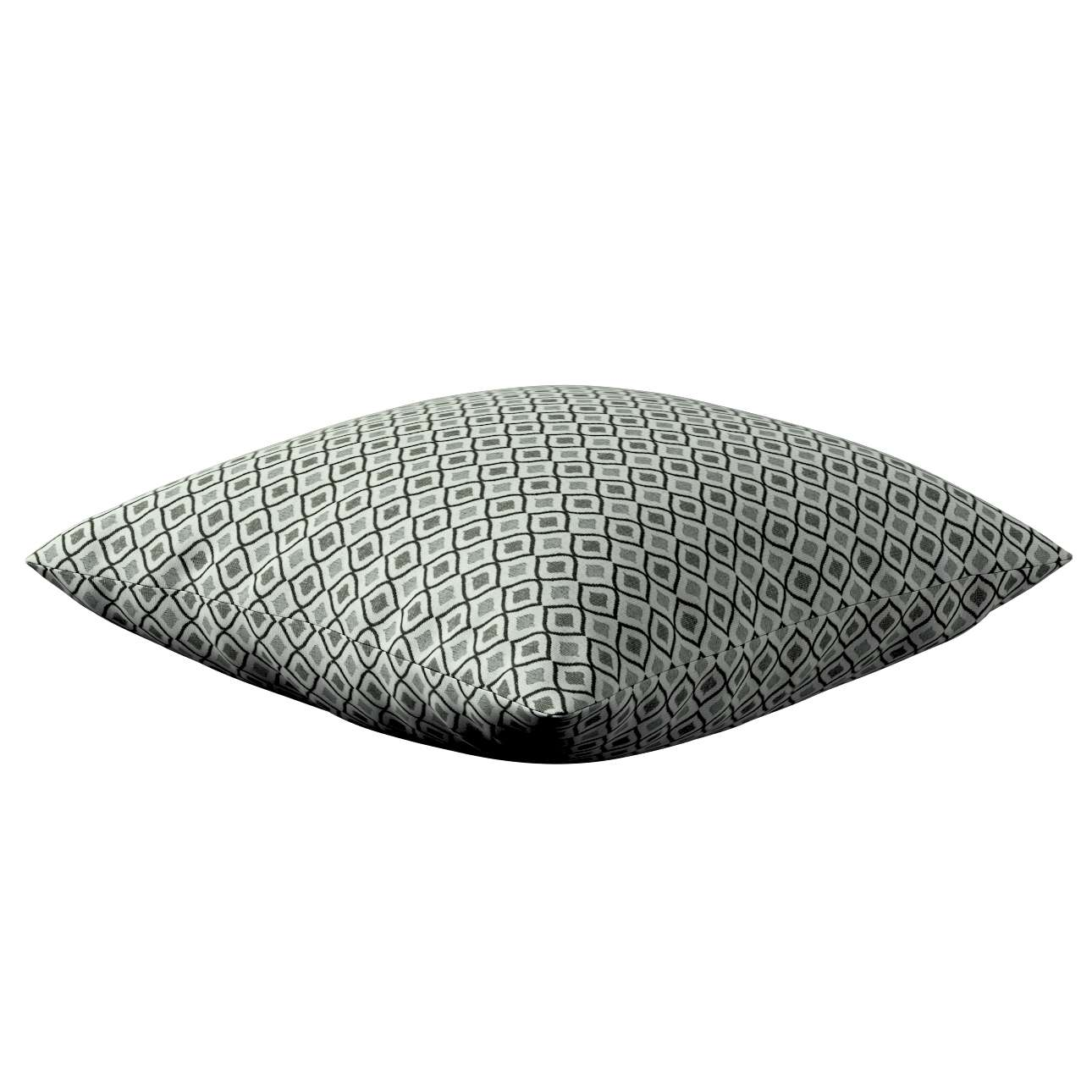 Kinga cushion cover in collection Black & White, fabric: 142-76