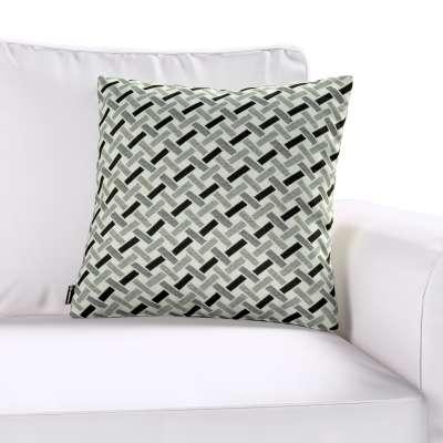 Poszewka Kinga na poduszkę w kolekcji Black & White, tkanina: 142-78
