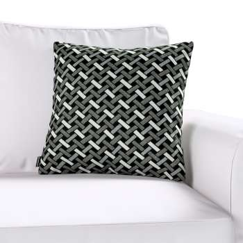 Kinga cushion cover in collection Black & White, fabric: 142-87