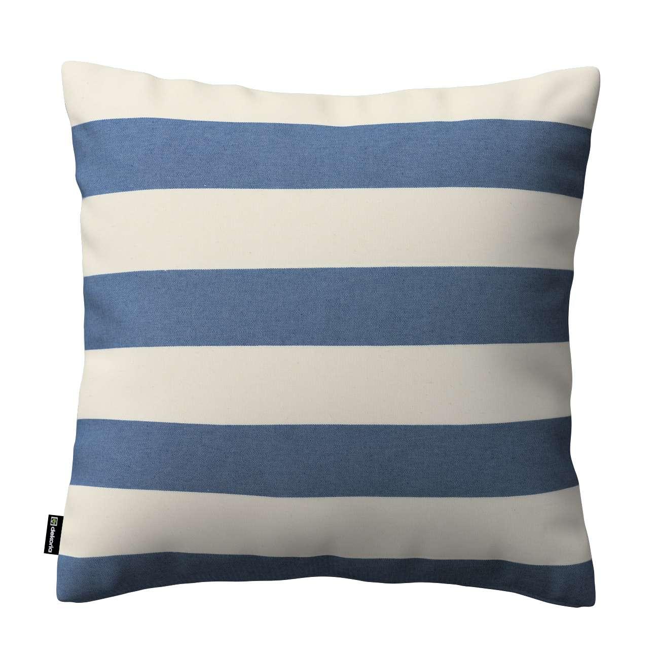 Poszewka Kinga na poduszkę w kolekcji Quadro, tkanina: 142-70