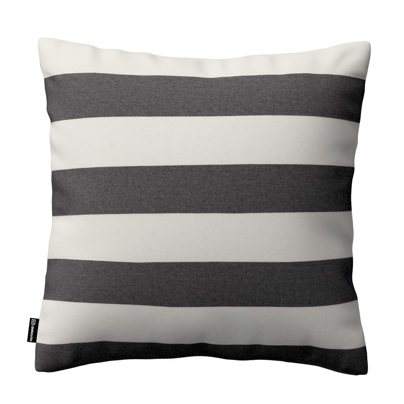 Poszewka Kinga na poduszkę w kolekcji Quadro, tkanina: 142-72