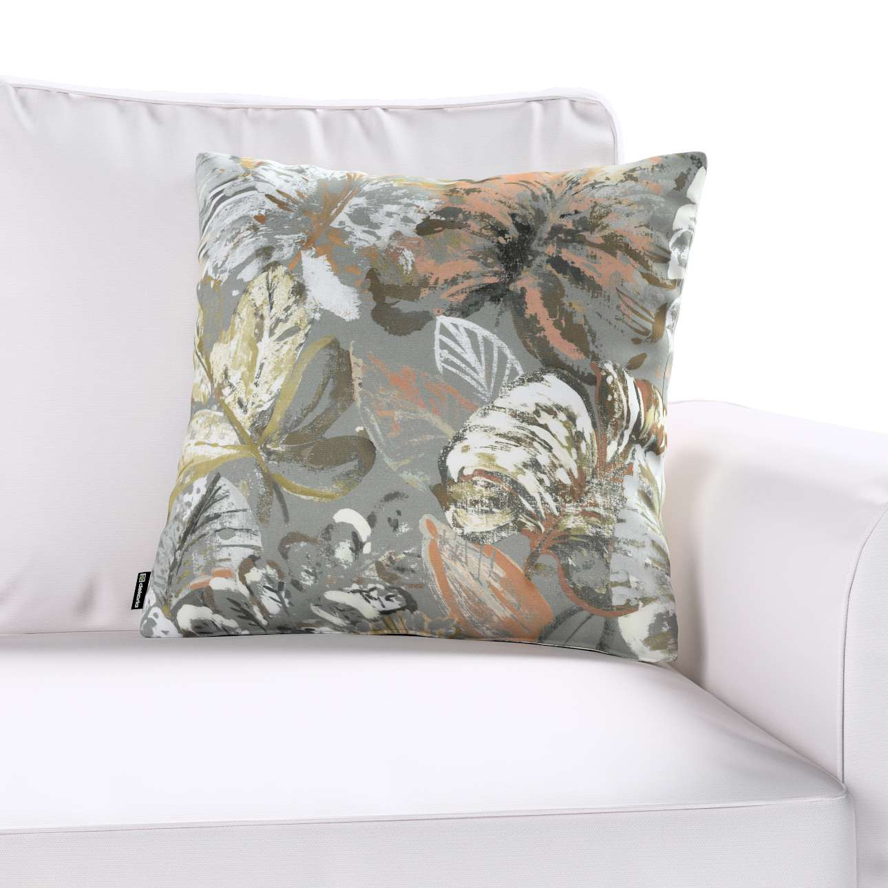 Kinga cushion cover in collection Abigail, fabric: 143-19
