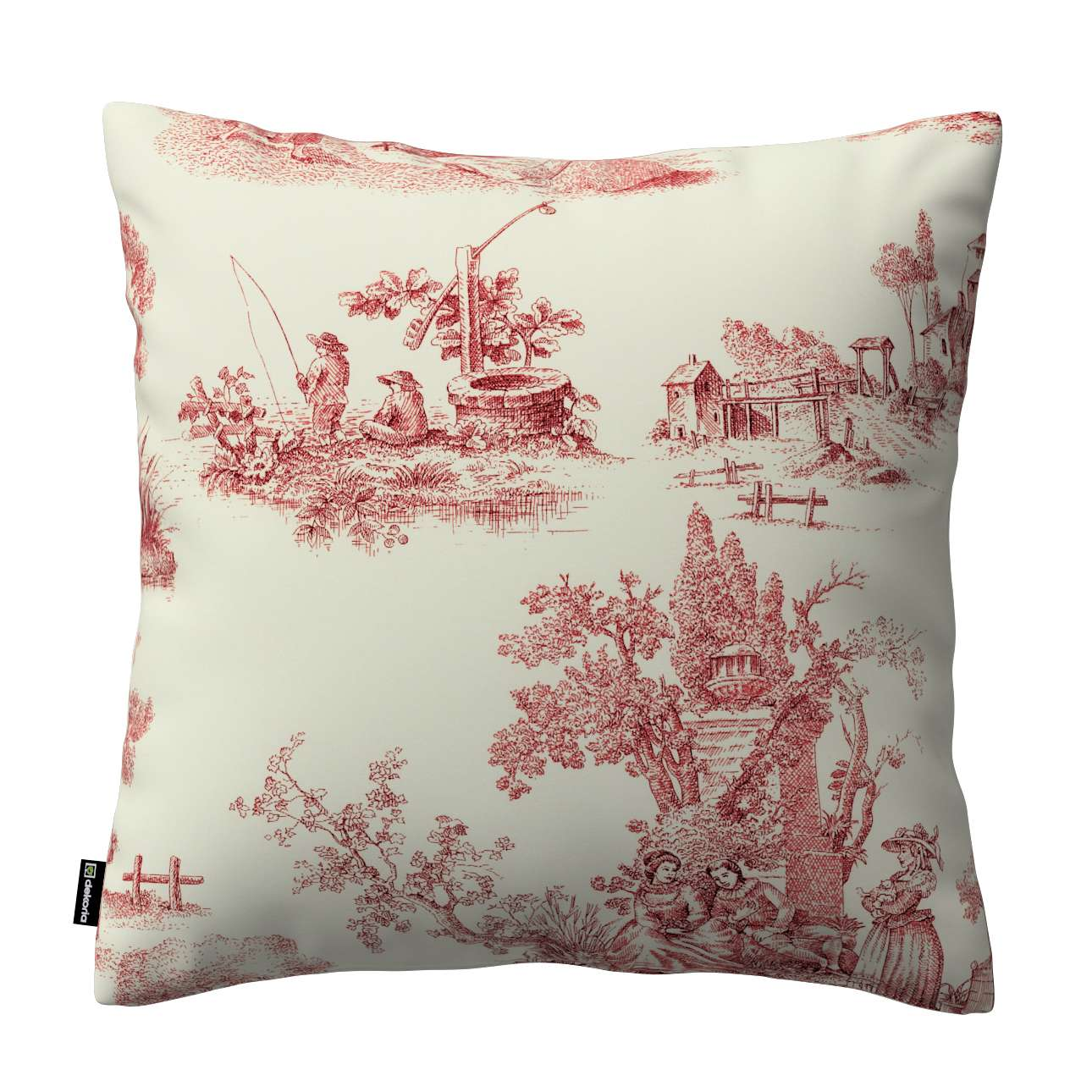 Poszewka Kinga na poduszkę w kolekcji Avinon, tkanina: 132-15
