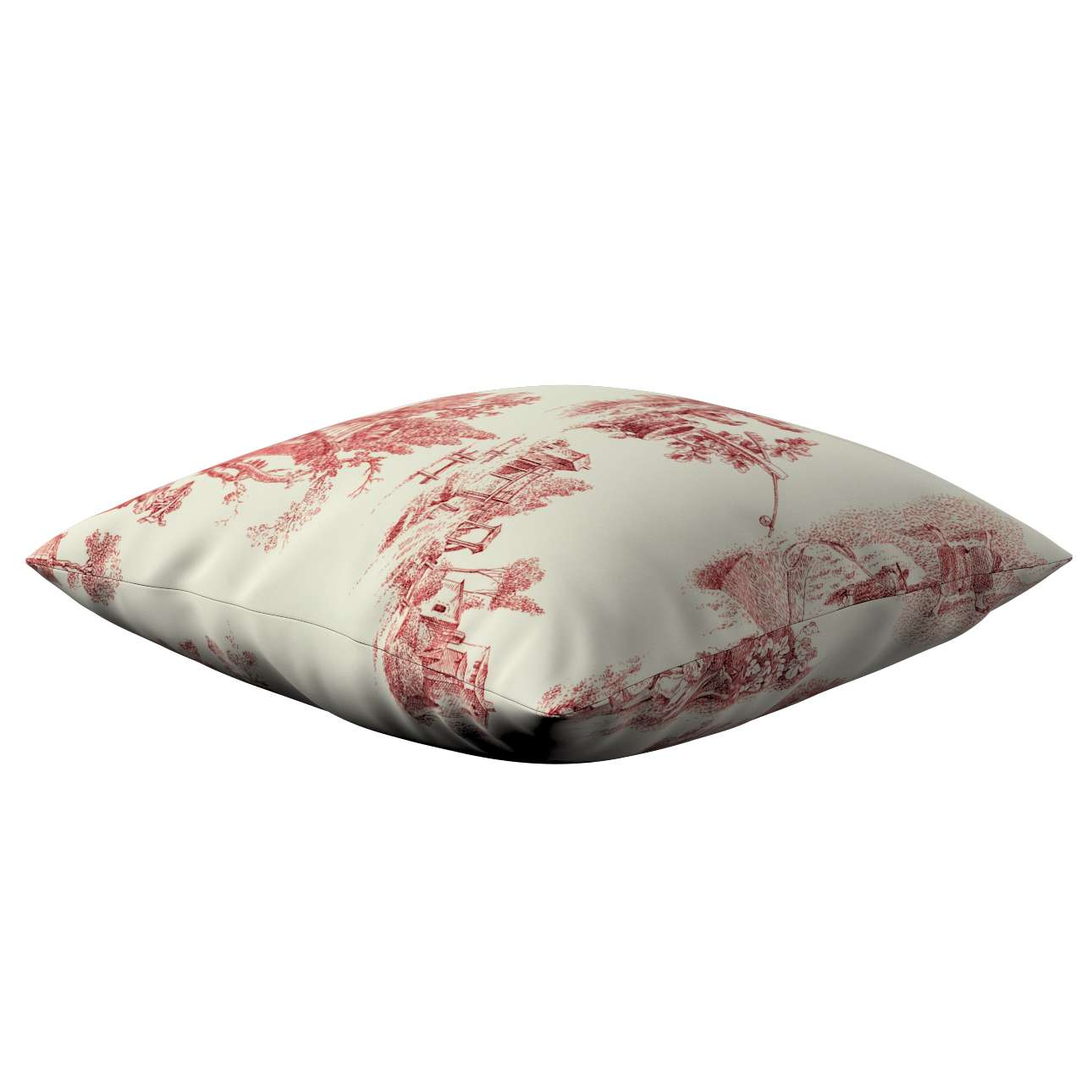 Kinga cushion cover 43 x 43 cm (17 x 17 inch) in collection Avinon, fabric: 132-15