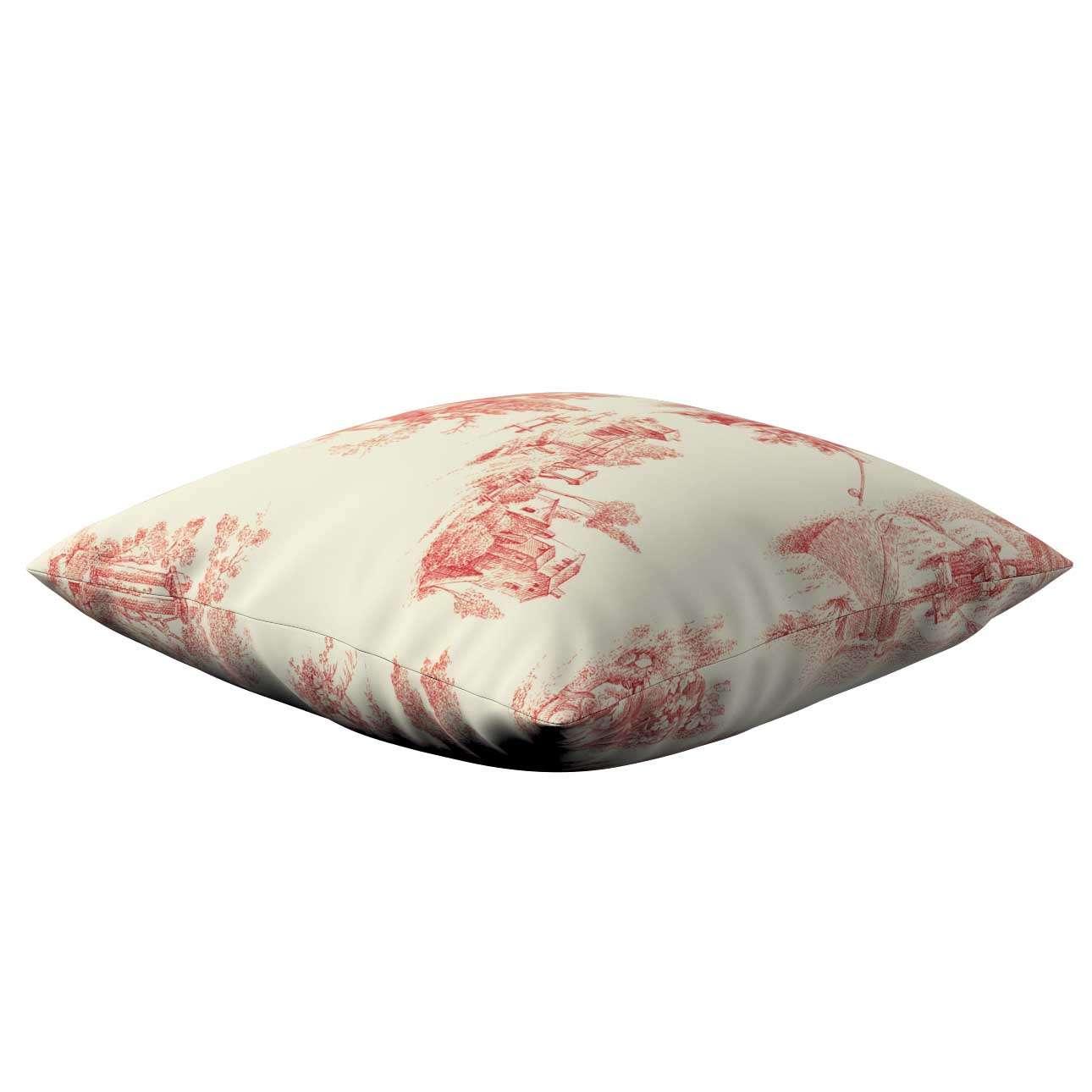 Poszewka Kinga na poduszkę 43 x 43 cm w kolekcji Avinon, tkanina: 132-15