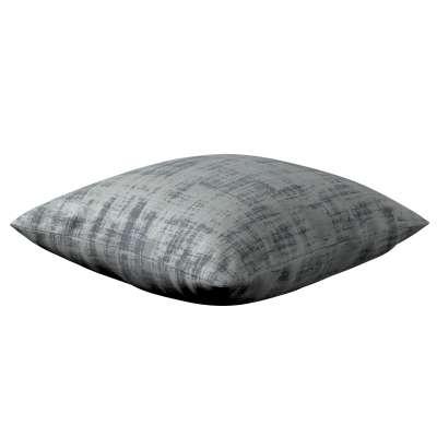 Poszewka Kinga na poduszkę 704-32 szary beton Kolekcja Velvet