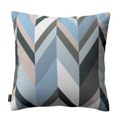 Kinga cushion cover 143-54 blue-beige Collection Vintage 70's