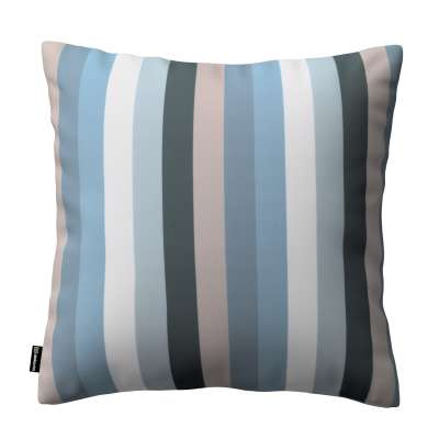 Kinga cushion cover 143-57 stripes in blue colors  Collection Vintage 70's