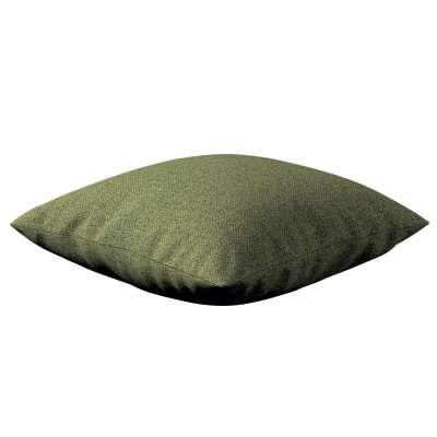 Kinga - potah na polštář jednoduchý 161-22 zelená melanž Kolekce Madrid