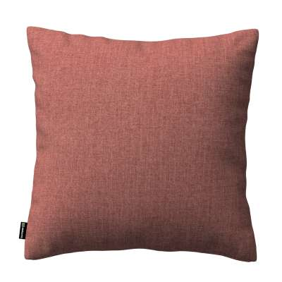 Kinga dekoratyvinės pagalvėlės užvalkalas 704-84 rudas-konjakto spalvos šenilinis audinys Kolekcija City