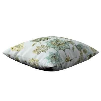 Poszewka Kinga na poduszkę 143-67 kwiaty na beżowo - szarym tle Kolekcja Flowers
