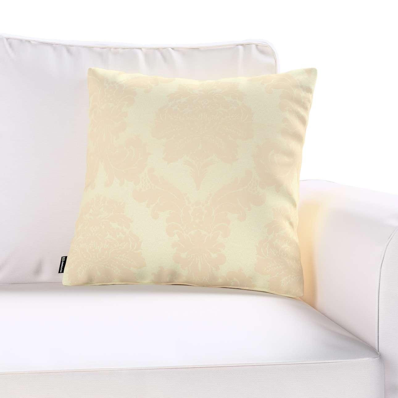 Poszewka Kinga na poduszkę w kolekcji Damasco, tkanina: 613-01