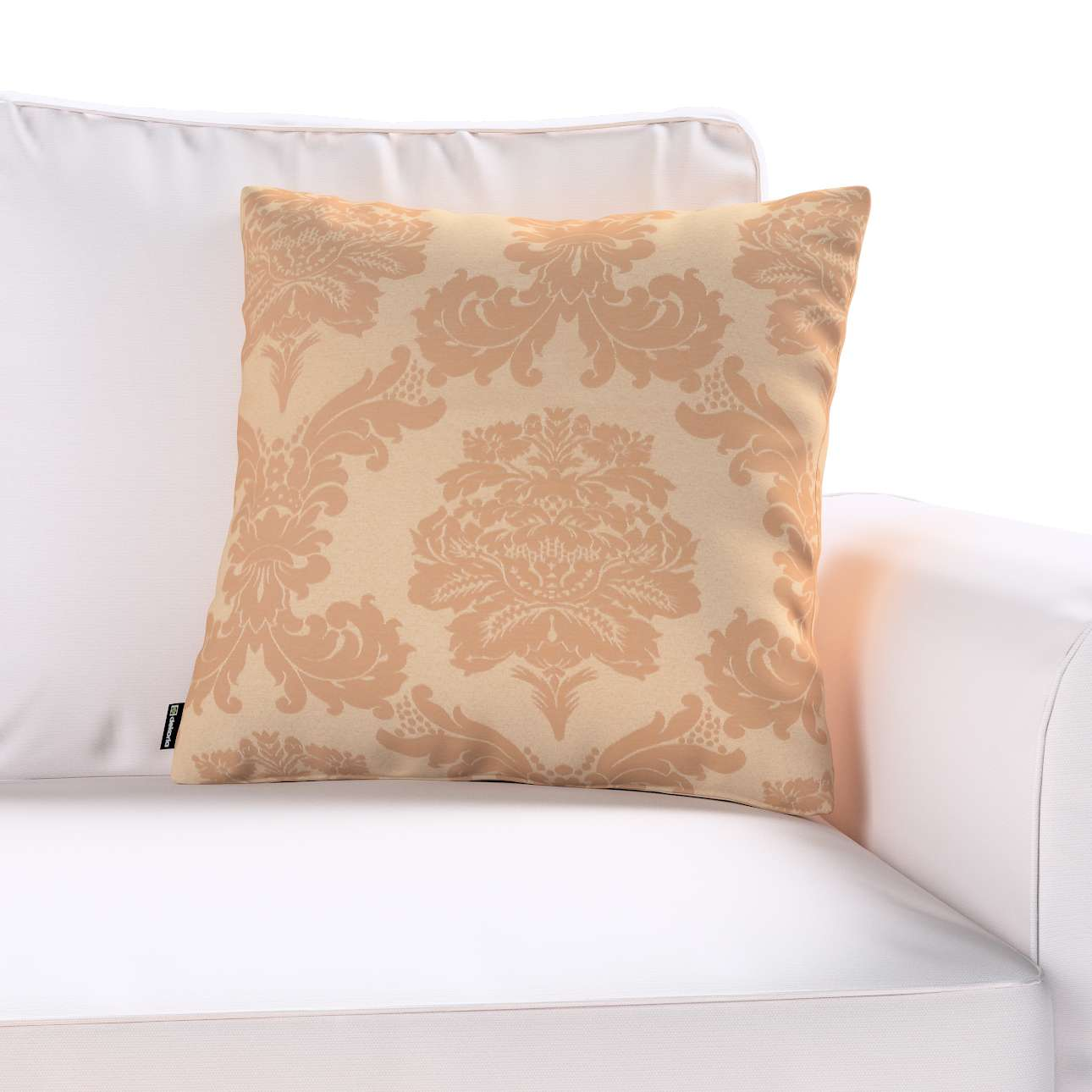 Poszewka Kinga na poduszkę w kolekcji Damasco, tkanina: 613-04