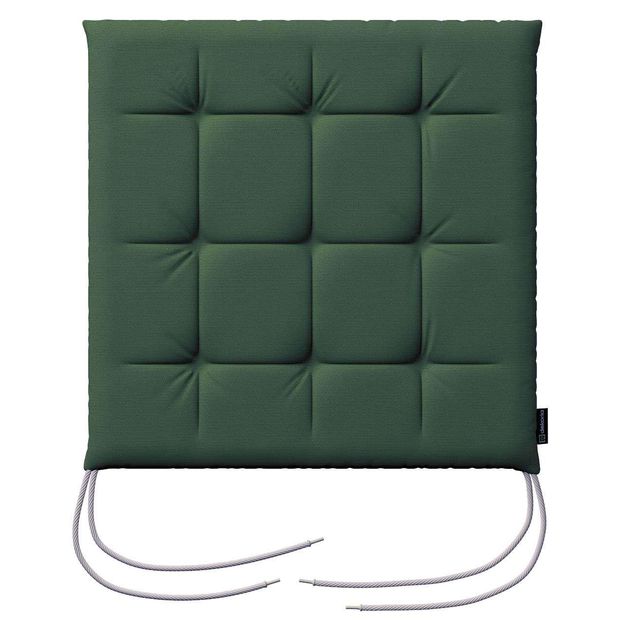 Siedzisko Karol na krzesło 40x40x3,5cm w kolekcji Cotton Panama, tkanina: 702-06
