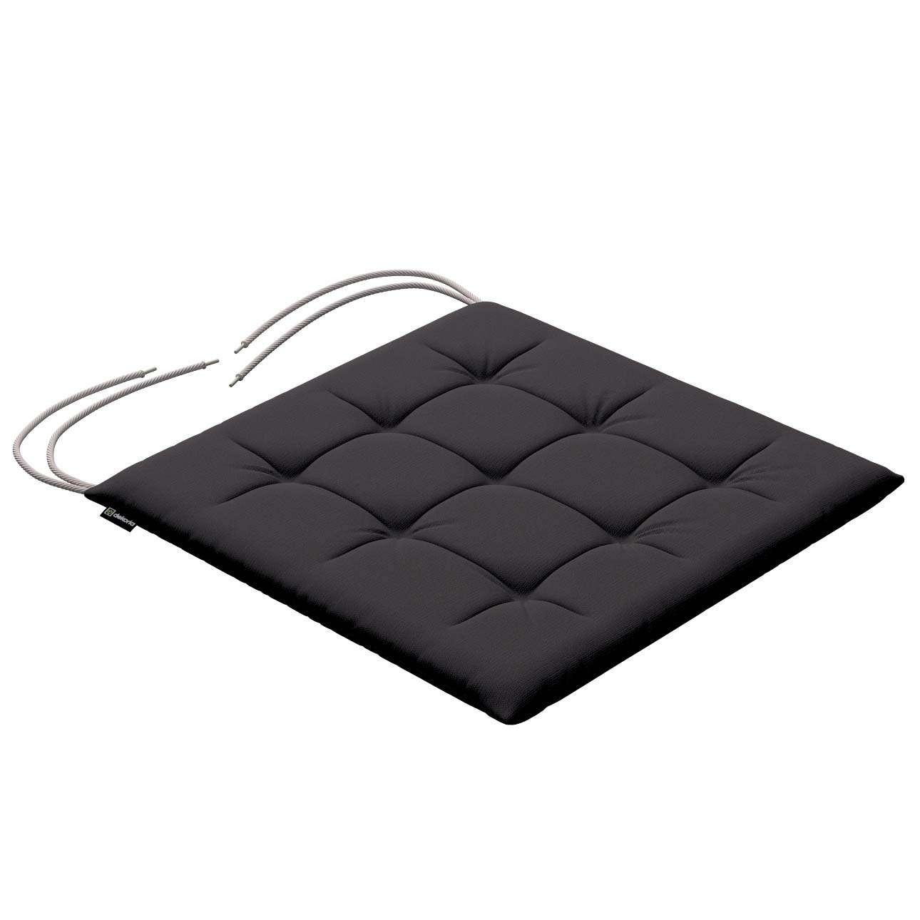 Siedzisko Karol na krzesło 40x40x3,5cm w kolekcji Cotton Panama, tkanina: 702-09
