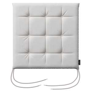 Siedzisko Karol na krzesło 40x40x3,5cm w kolekcji Linen, tkanina: 392-04