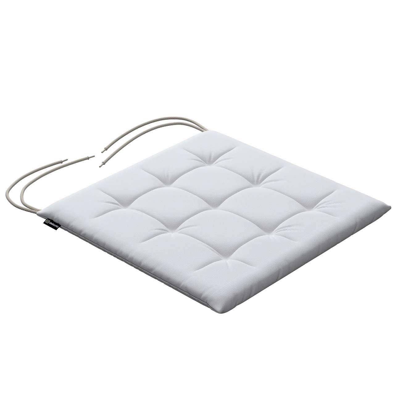 stuhlkissen ulrich mit bindeschnur wei dekoria. Black Bedroom Furniture Sets. Home Design Ideas