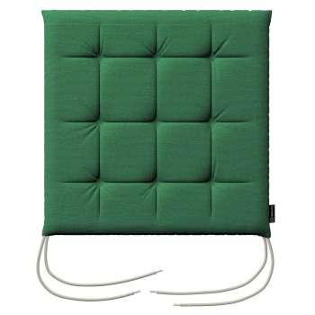 Siedzisko Karol na krzesło 40x40x3,5cm w kolekcji Loneta, tkanina: 133-18