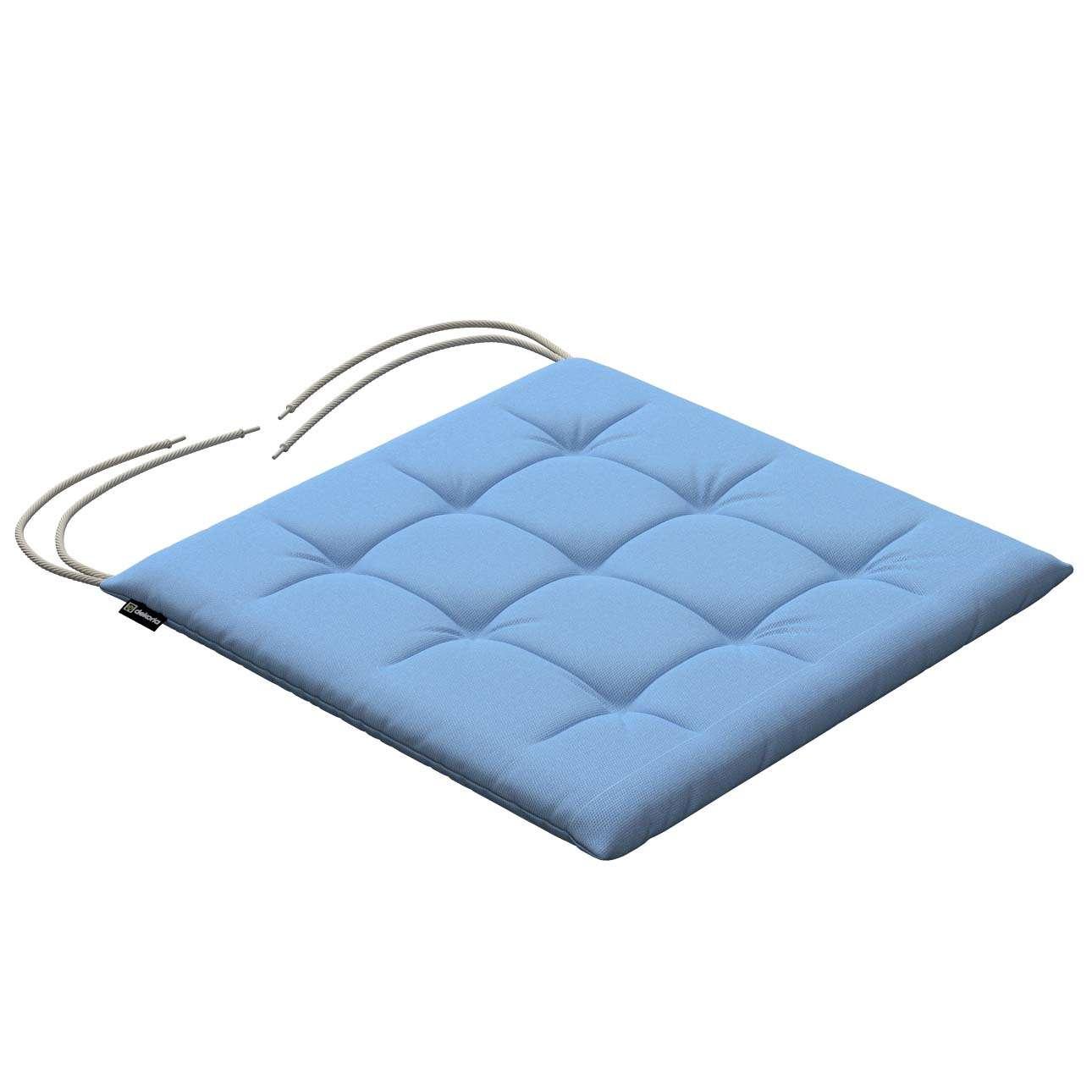 Siedzisko Karol na krzesło 40x40x3,5cm w kolekcji Loneta, tkanina: 133-21