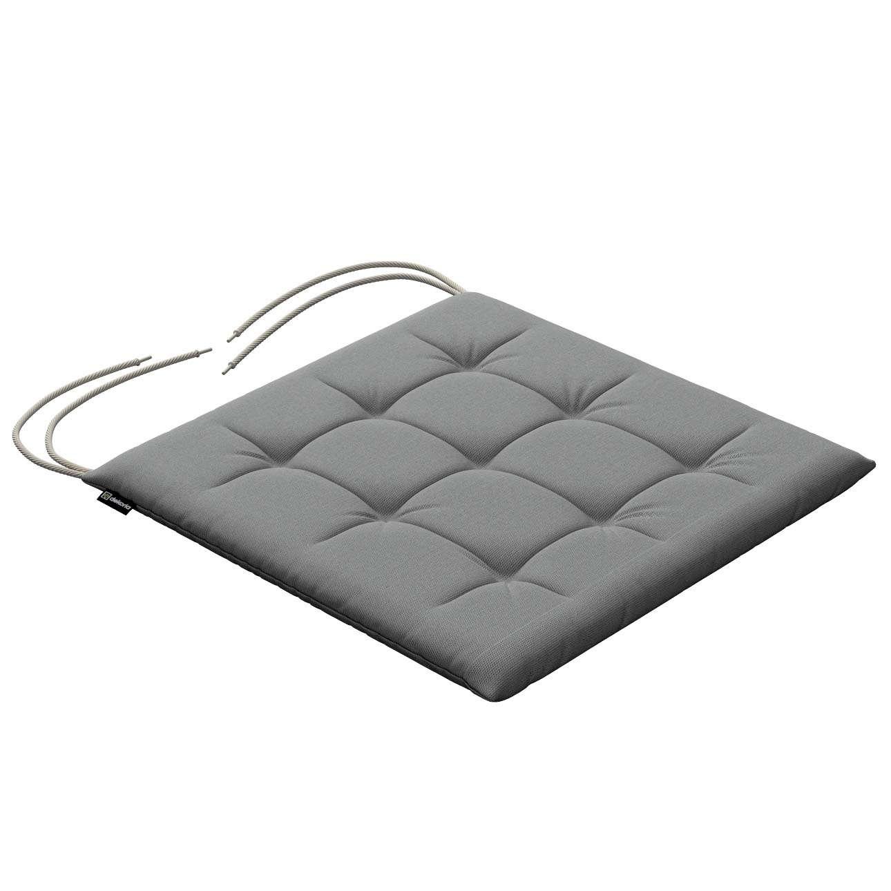 Siedzisko Karol na krzesło 40x40x3,5cm w kolekcji Loneta, tkanina: 133-24