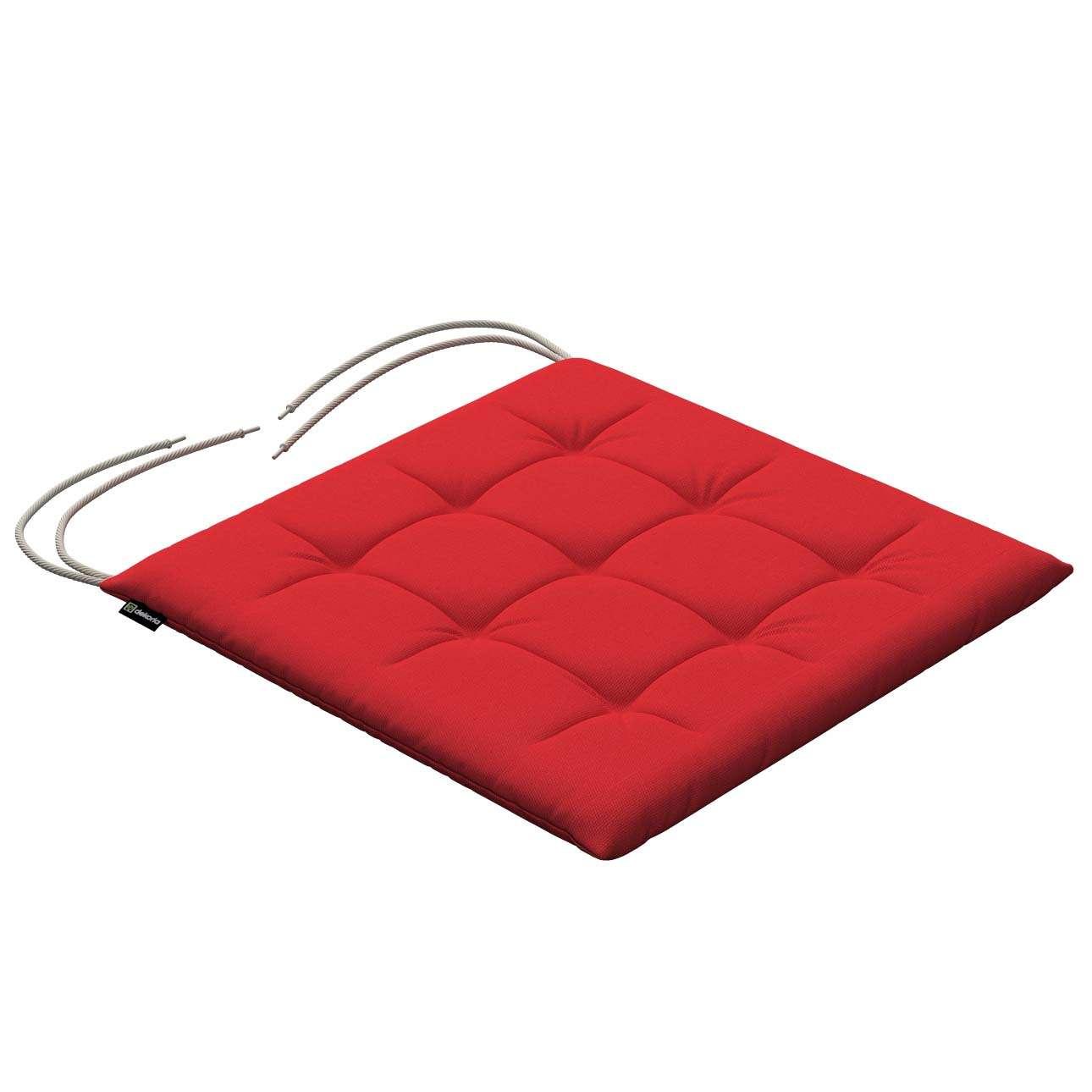 Siedzisko Karol na krzesło 40x40x3,5cm w kolekcji Loneta, tkanina: 133-43