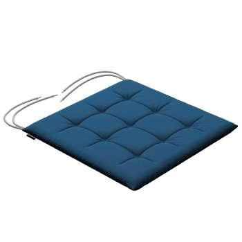 Siedzisko Karol na krzesło 40x40x3,5cm w kolekcji Cotton Panama, tkanina: 702-30