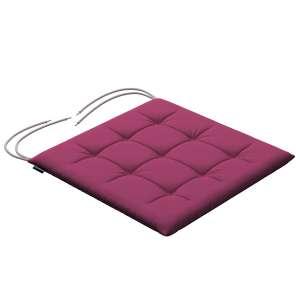 Siedzisko Karol na krzesło 40x40x3,5cm w kolekcji Cotton Panama, tkanina: 702-32
