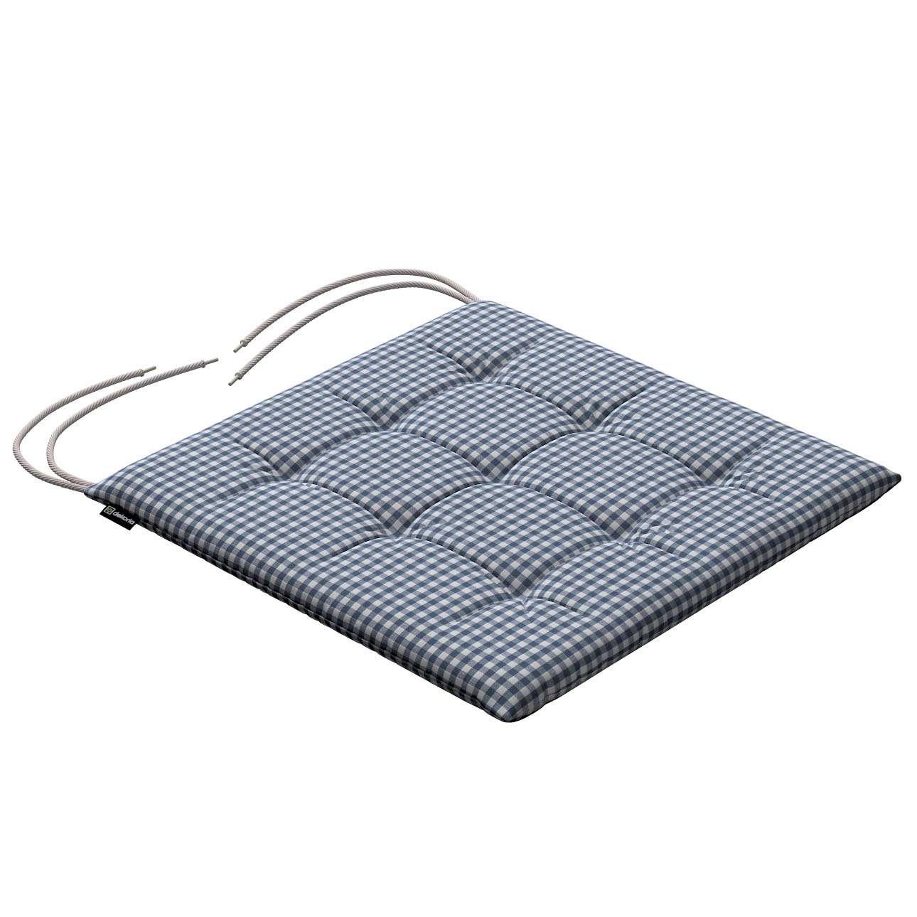 Kėdės pagalvėlė Karol  40 x 40 x 3,5 cm kolekcijoje Quadro, audinys: 136-00