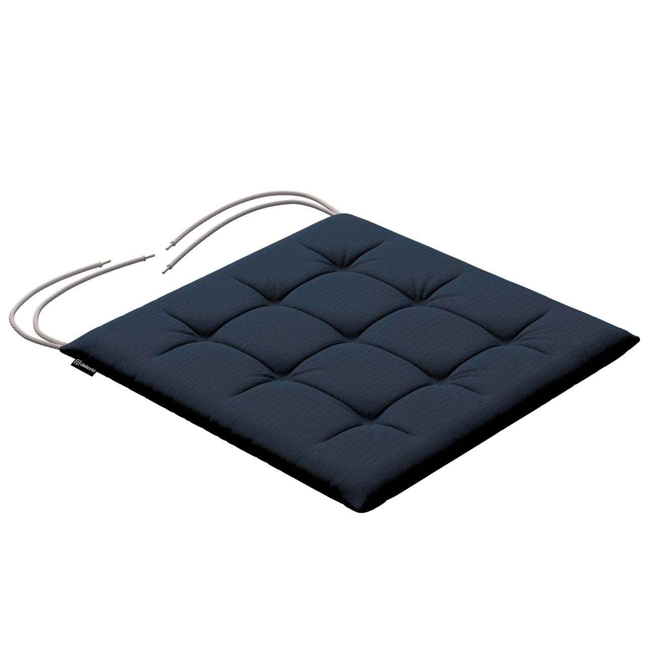 Siedzisko Karol na krzesło 40x40x3,5cm w kolekcji Quadro, tkanina: 136-04