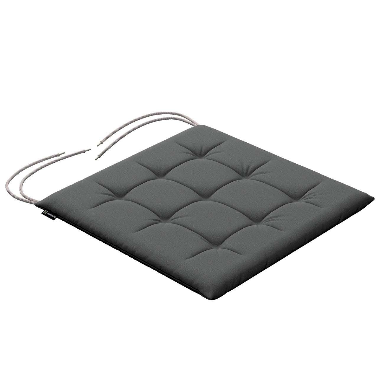 Siedzisko Karol na krzesło 40x40x3,5cm w kolekcji Quadro, tkanina: 136-14