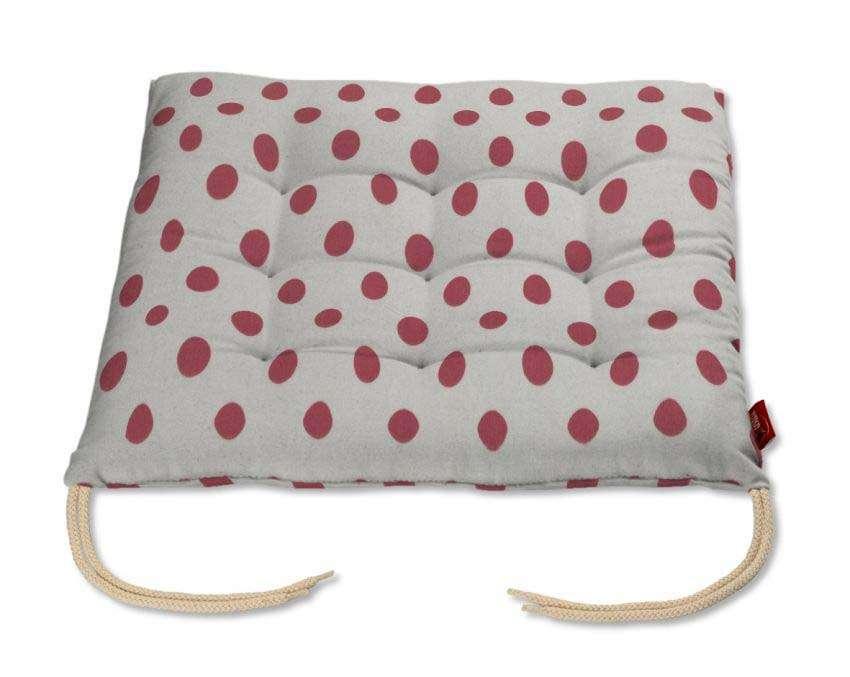 Siedzisko Karol na krzesło 40x40x3,5cm w kolekcji Ashley, tkanina: 137-70