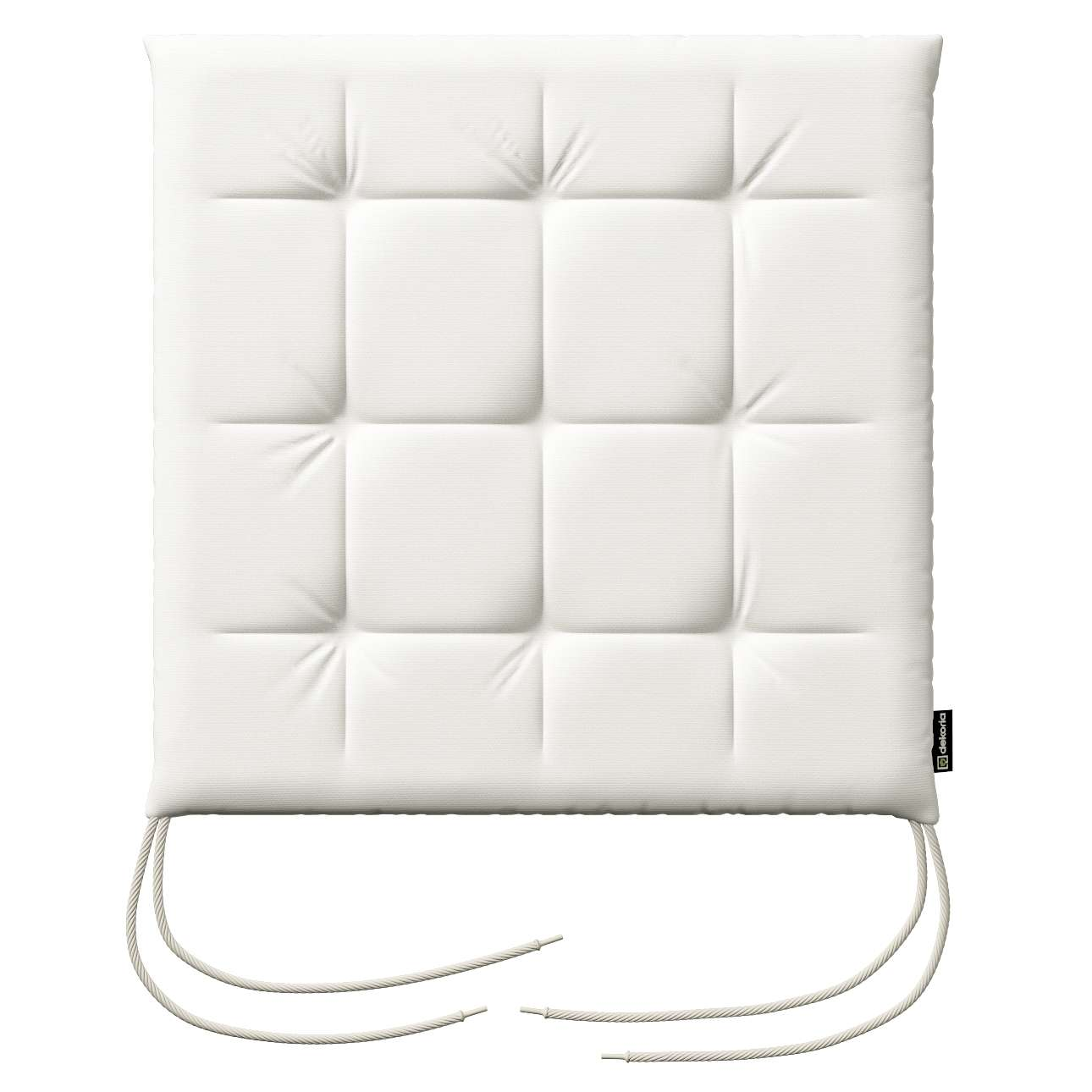 Siedzisko Karol na krzesło 40x40x3,5cm w kolekcji Cotton Panama, tkanina: 702-34