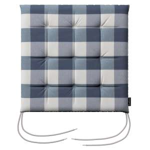 Siedzisko Karol na krzesło 40x40x3,5cm w kolekcji Quadro, tkanina: 136-03