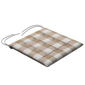 Siedzisko Karol na krzesło 40x40x3,5cm w kolekcji Quadro, tkanina: 136-08