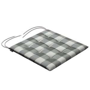 Siedzisko Karol na krzesło 40x40x3,5cm w kolekcji Quadro, tkanina: 136-13